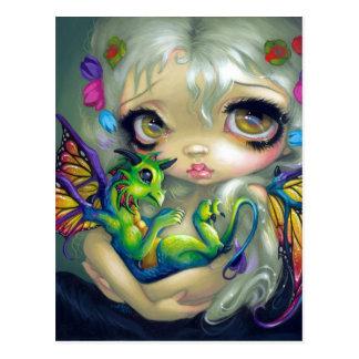 """Darling Dragonling IV"" Postcard"
