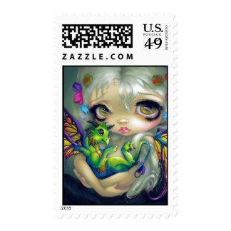 """""""Darling Dragonling IV"""" Stamp"""