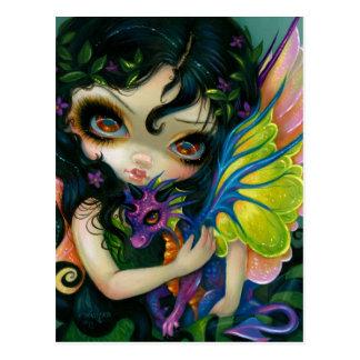 """Darling Dragonling V"" Postcard"