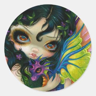 """Darling Dragonling V"" Sticker"