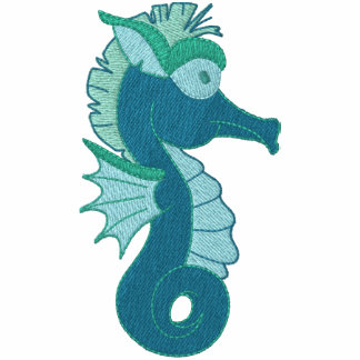 Darling Embroidered Seahorse Tees