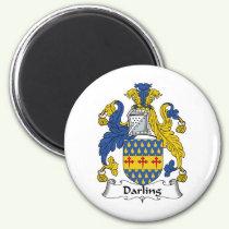 Darling Family Crest Magnet