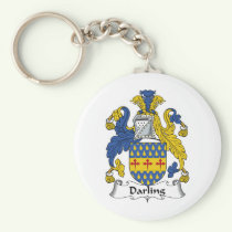 Darling Family Crest Keychain