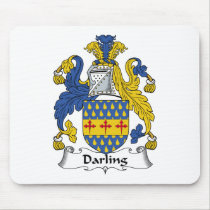 Darling Family Crest Mousepad