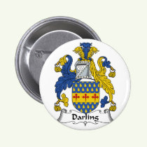 Darling Family Crest Button