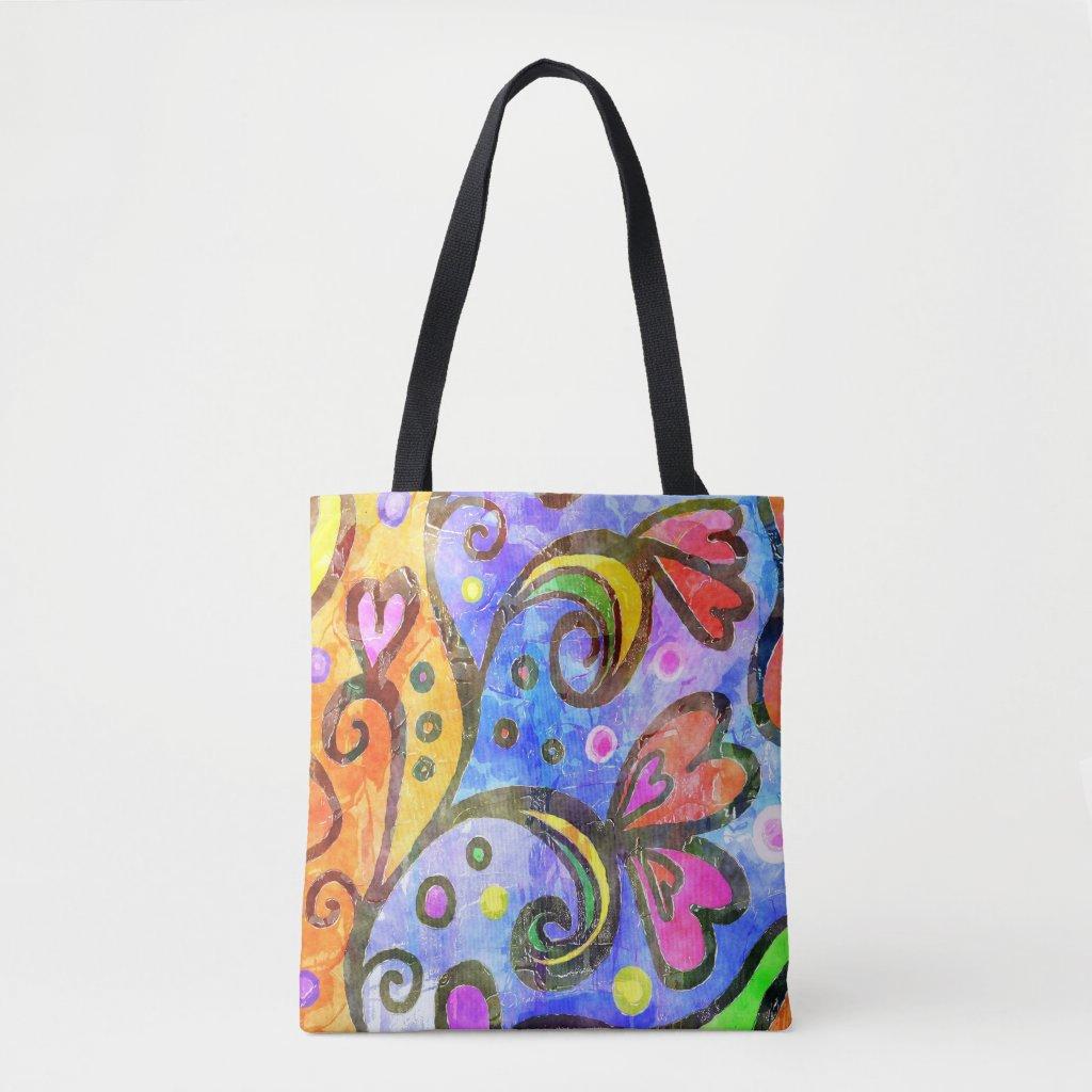 Darling Floral Tote Bag