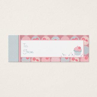 Darling Girl Skinny Gift Tag Mini Business Card