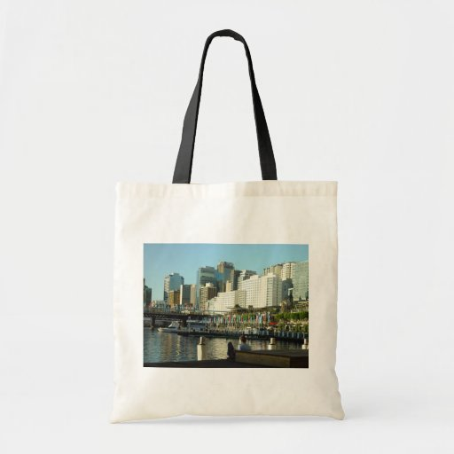 Darling Harbour In Sydney At New South Wales Bags