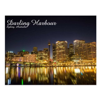 Darling Harbour, Sydney - Postcard