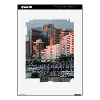 Darling Harbour, Sydney, sunset, Australia Skins For iPad 3