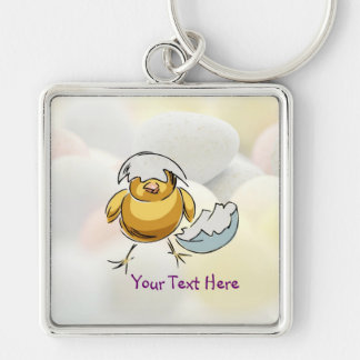 Darling Newly Hatched Chick Design Keyring