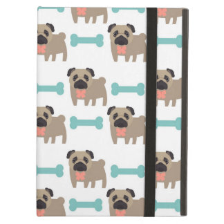 Darling Pug and Bone Cases, Gifts, Home Decor Cover For iPad Air
