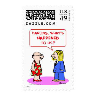 darling what's happened to us postage stamps