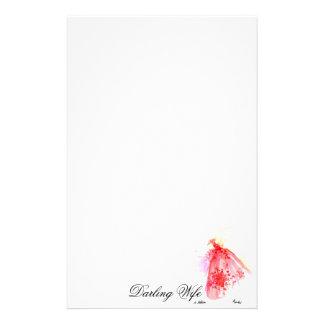 Darling wife stationery
