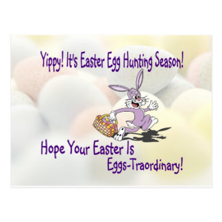 Darling! - Yippy! It's Easter Egg Hunting Season! Postcard