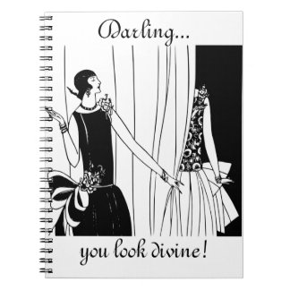 Darling, You Look Divine!: Fun Fashion Notebook