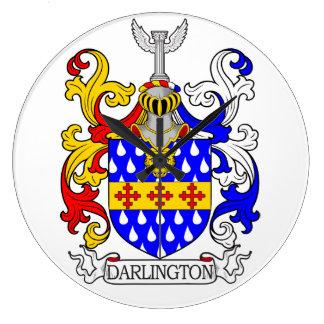 Darlington Coat of Arms III Wallclocks
