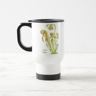 Darlingtonia californica, Carnivorous Plant 15 Oz Stainless Steel Travel Mug