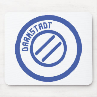darmstadt poststempel mouse pad
