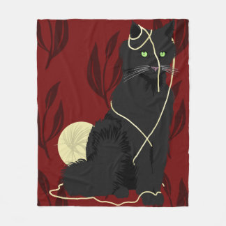 Darn Cat - Fleece Blanket