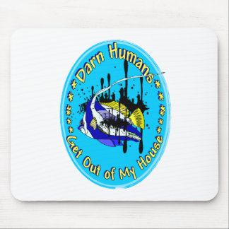 Darn Humans Mouse Pad