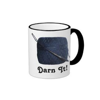 Darn It Darning Needle Thread Mug