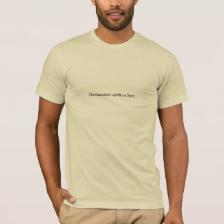 Darnassian spoken here... T-Shirt