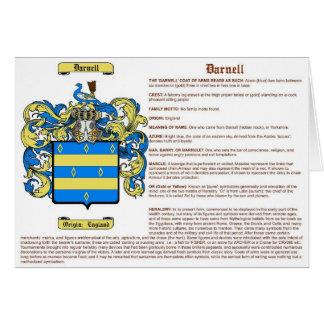 Darnell (significado) tarjeta de felicitación
