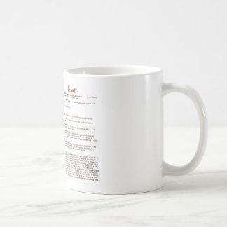 Darnell (significado) tazas de café
