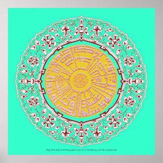 Darood Darud Pak Islamic Poster vectors