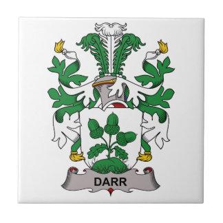 Darr Family Crest Ceramic Tile