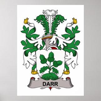 Darr Family Crest Poster