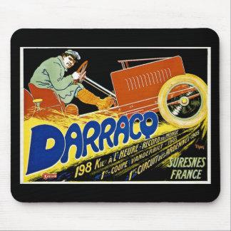 Darraco Vintage Race Car - Suresnes France Mouse Pad