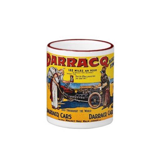 Darracq - Vintage Auto Advertisement Coffee Mugs