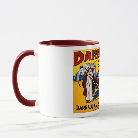 Darracq - Vintage Auto Advertisement Mug