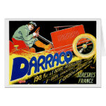 Darracq ~ Vintage French Motor Car Ad Cards