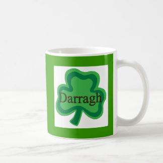 Darragh Irish Classic White Coffee Mug