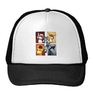 Darrik - Fox of Many Colors Trucker Hat