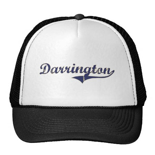 Darrington Washington Classic Design Hats
