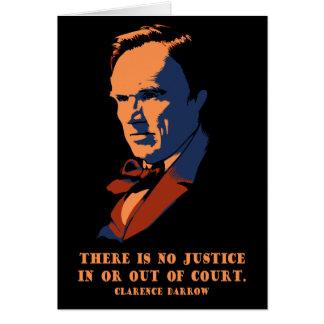 Darrow - Justice Card