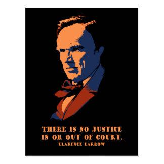 Darrow - Justice Postcard