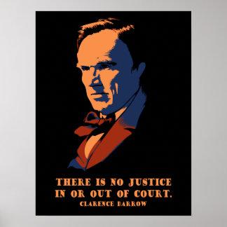 Darrow - Justice Poster