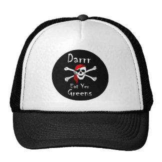 Darrr Eat Yer Greens Trucker Hat