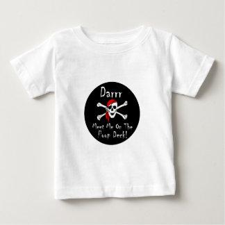 Darrr Meet Me On the Poop Deck! Baby T-Shirt