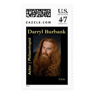 Darryl Burbank Stamp : Actor | Philaantropist