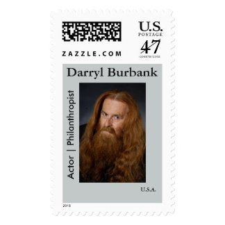 Darryl Burbank Stamp : Actor | Philanthropist