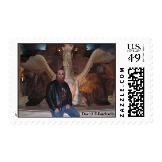 Darryl E Burbank  American Legends Artist Postage