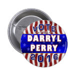 Darryl Perry President 2016 Election Libertarian 2 Inch Round Button