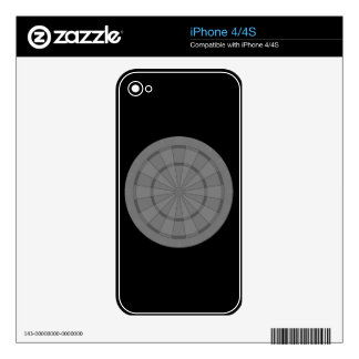 Dart Board Decals For iPhone 4S