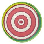 Dart Board  Design  Plate